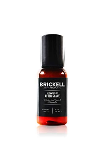 Brickell Men's Products – Loción para Después de Afeitar Alivio Instantáneo para Hombres – Natural y Orgánica - 59 ml
