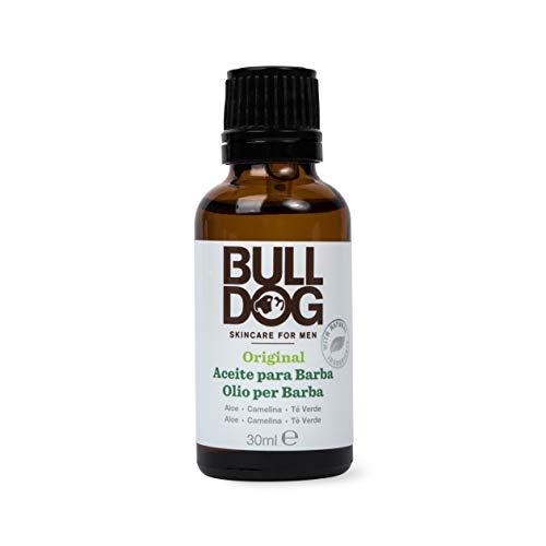 Bulldog Cuidado Facial para Hombres - Aceite Hidratante para Barba , Fórmula Original , Cuidado Masculino , 30 ml