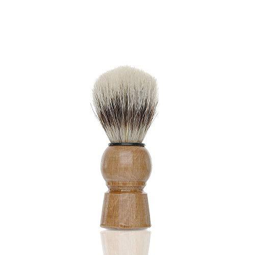 Casalfe Brocha afeitar cerda natural con mango de madera