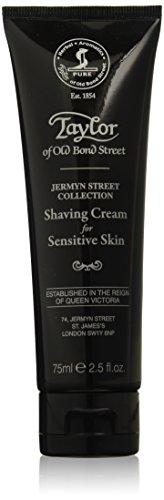 Taylor of Old Bond Street Jermyn Street Collection- Crema de afeitar para pieles sensibles, 75 ml