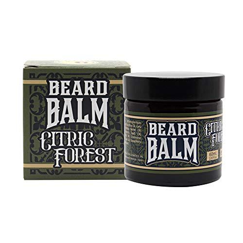 HEY JOE! - Beard Balm Nº 6 Citric Forest   Bálsamo para Barba Hidratante con Fragancia de Pino y Limón - Envase de 60 ml