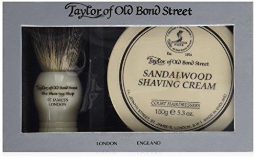 Taylor of Old Bond Street Sandalwood Shaving Gift Set