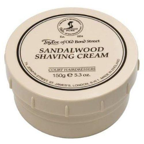 Taylor of Old Bond Street Sandalwood Shaving Cream , 5.3 oz, 2 Pack by Taylor of Old Bond Street