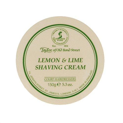 Taylor of Old Bond Street Crema de Afeitar Lemon & Lime Taylors of Old Bond Street 150gr 300 g