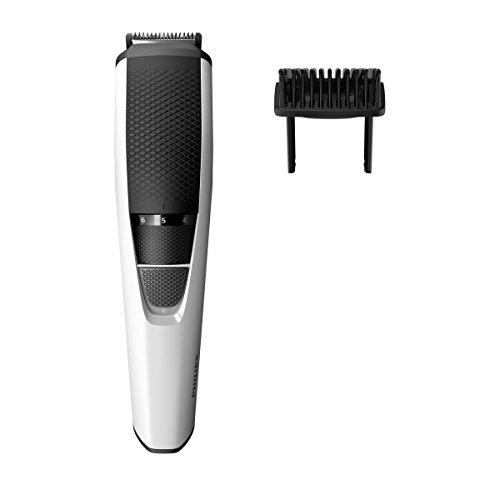 Philips BT3206/14 Barbero Recortadora de Barba, funda de viaje, sistema Lift & Trim, 10 posiciones, Blanco