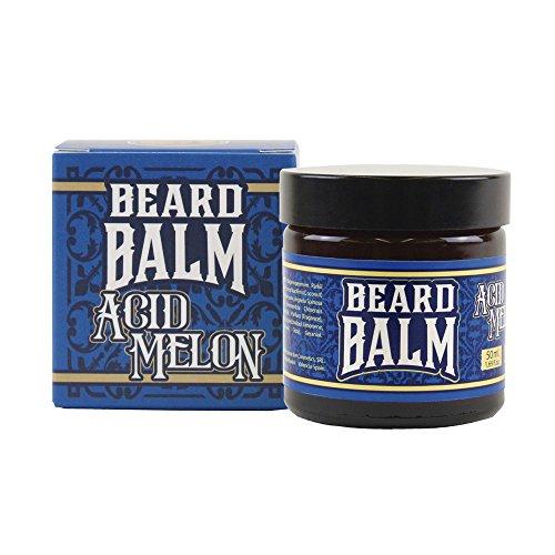 HEY JOE - Beard Balm Nº1 ACID MELON 50ml   Balsamo para barba 50ml con ARGÁN, JOJOBA, COCO y manteca de KARITÉ. Aroma a MELÓN