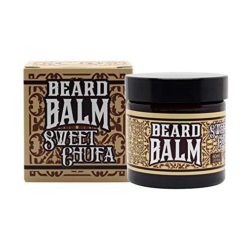 HEY JOE! - Beard Balm Nº 5 Sweet Chalufa   Bálsamo para Barba Hidratante Fragancia de Limón y Canela - Envase de 60 ml