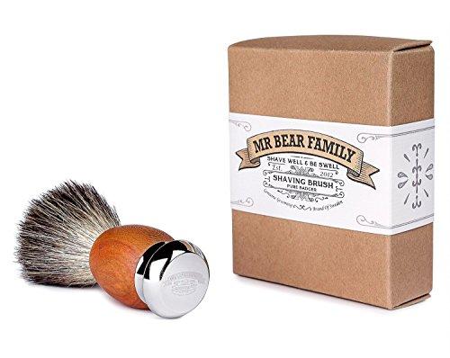 Mr Bear Family - Brocha de afeitar (pelo de tejón)
