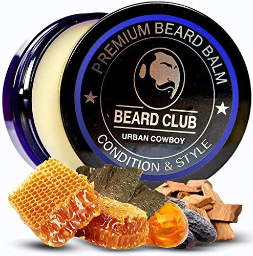 Bálsamo Barba Premium | Urban Cowboy | Los Mejores Barba de Loción Suavizante| Naturales y Orgánicos | Excelente Para el Cuidado del Cabello y el Crecimiento