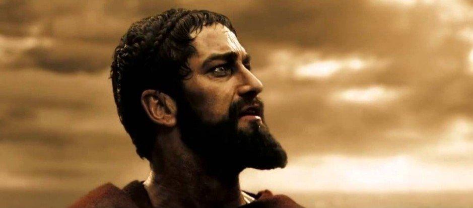 barba espartano
