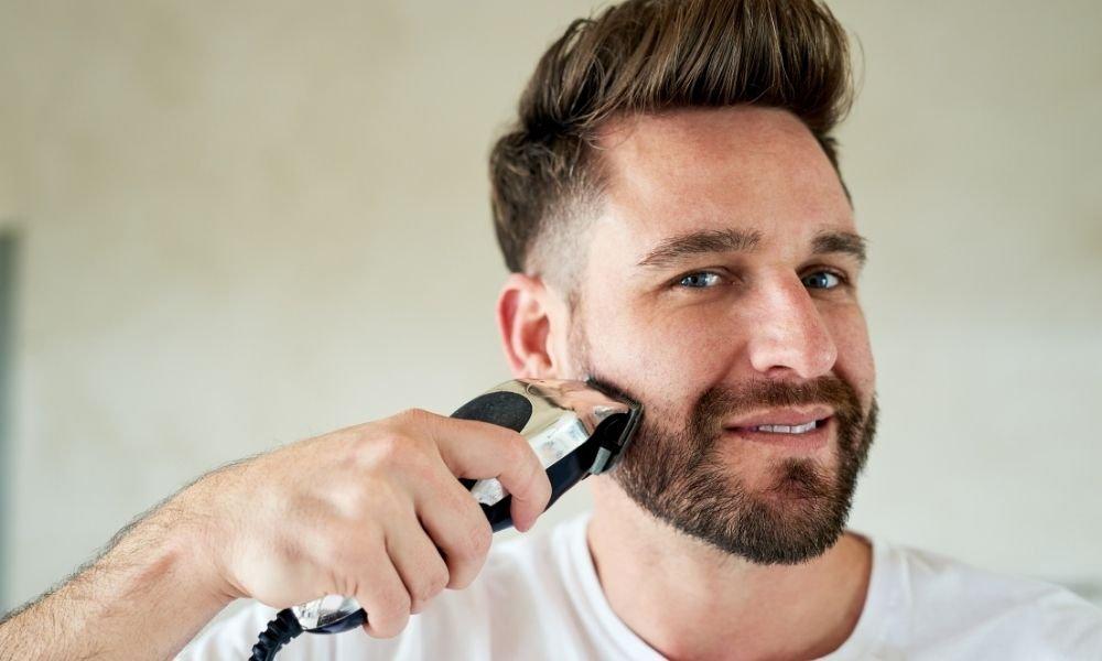 cortar la barba