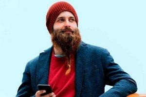 barba con trenza