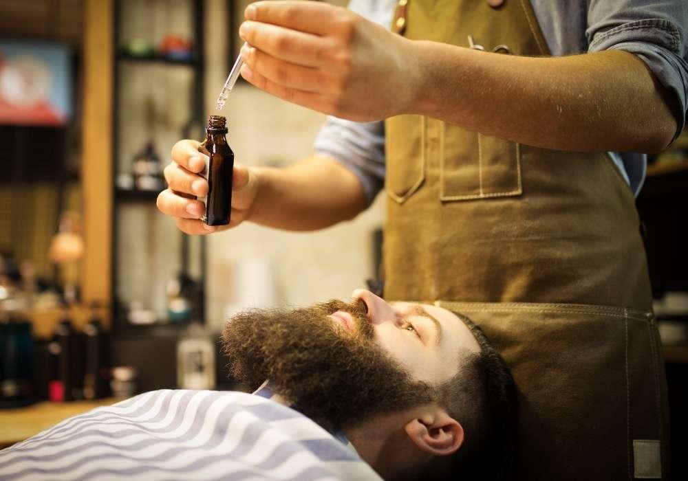 como lavar la barba