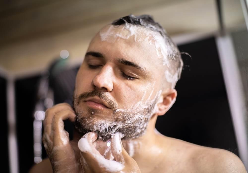 lavarse la barba correctamente
