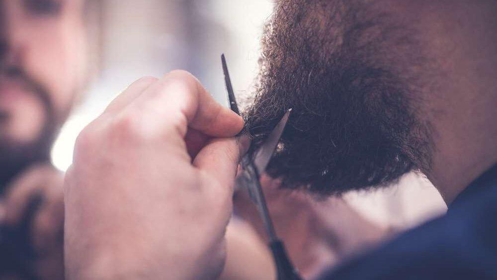 tijeras para cortar la barba